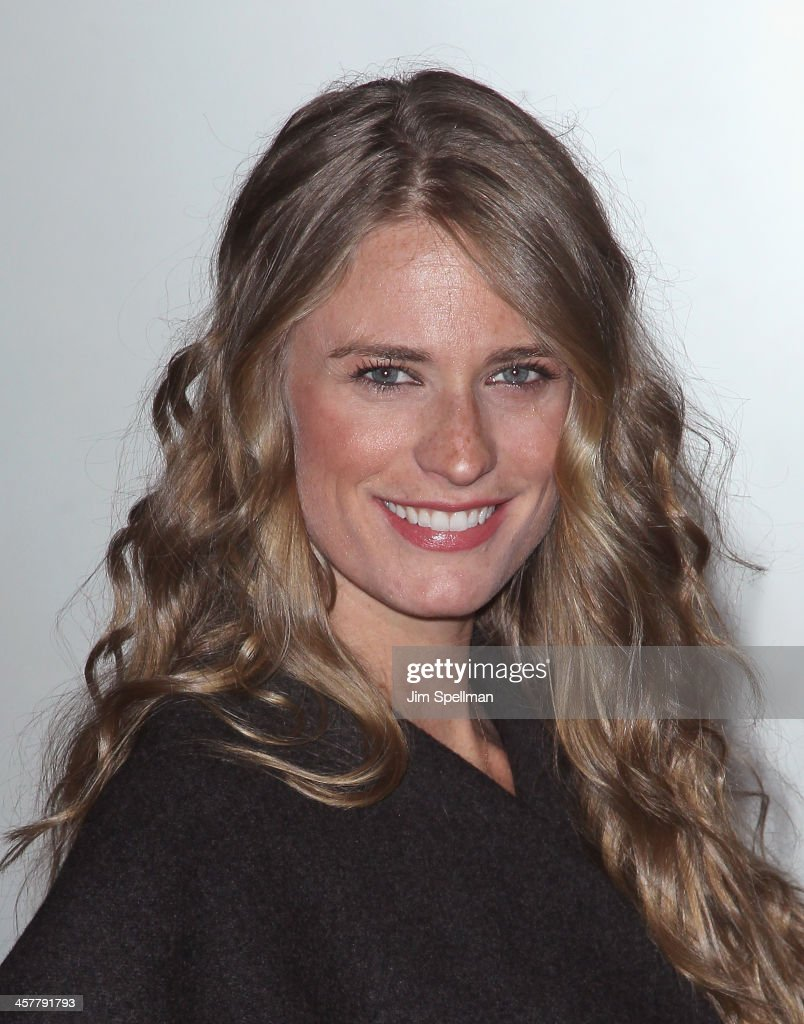 Model Julie Henderson attends the 20th Century Fox With The Cinema Society & Brooks Brothers screening of 'The Secret Life Of Walter Mitty' at Museum of Modern Art on December 18, 2013 in New York City.