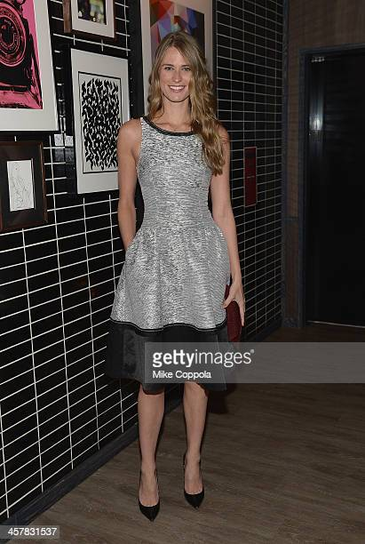 Model Julie Henderson attends the after party for The Secret Life Of Walter Mitty screening hosted by 20th Century Fox with The Cinema Society and...