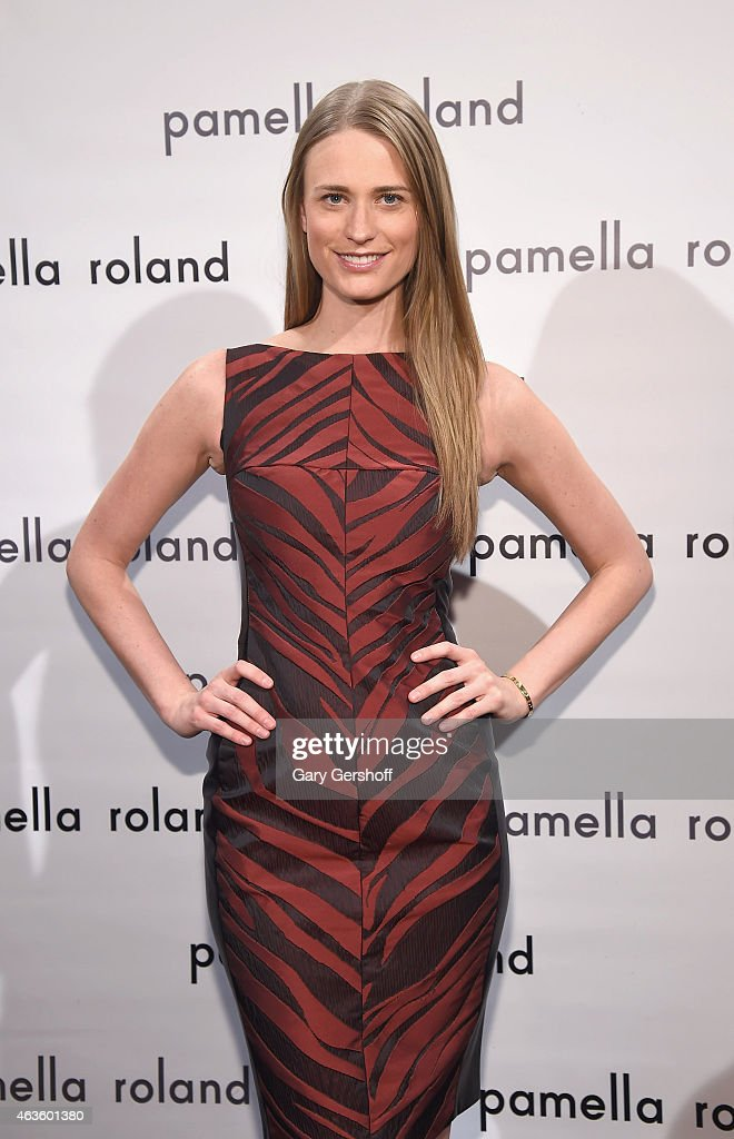 Pamella Roland - Front Row & Backstage - Mercedes-Benz Fashion Week Fall 2015