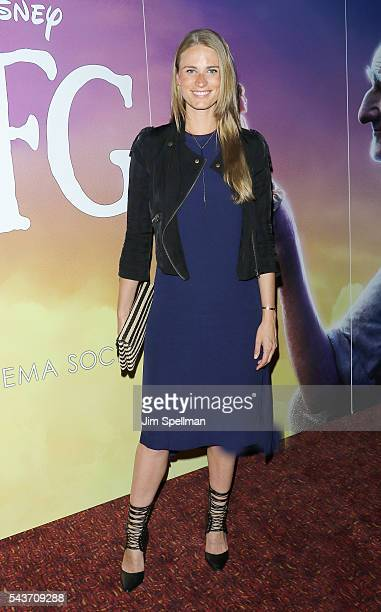 Model Julie Henderson attends the screening of The BFG hosted by Disney The Cinema Society at Village East Cinema on June 29 2016 in New York City