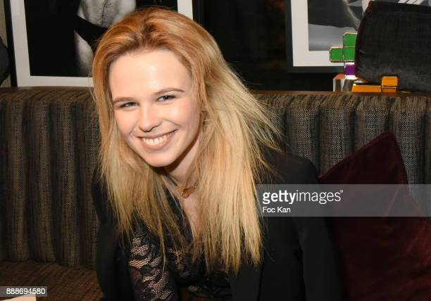 Model Julie Jardon attends Ken Okada Fashion Show at Hotel W on December 8 2017 in Paris France