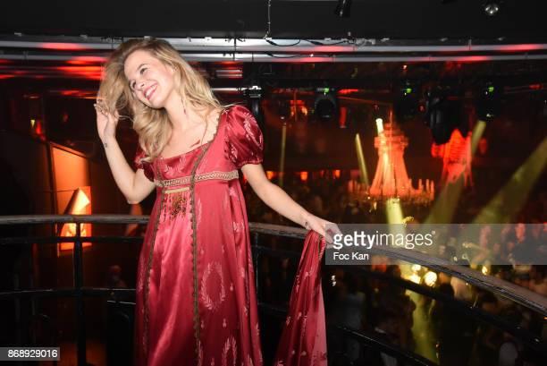 Model Julie Jardon attends the Bal des Vampires 2017 at Pavillon Champs Elysees on October 31 2017 in Paris France