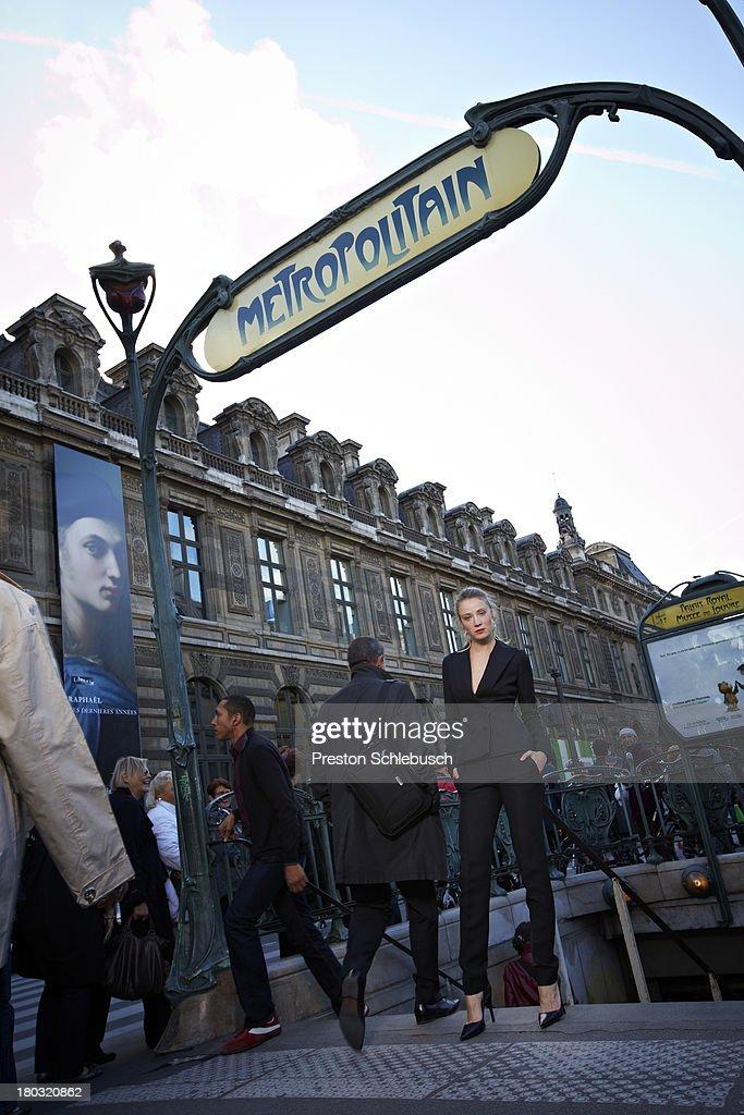 Justina Vazgauskaite, Conde Nast Traveler - Spain, January 1, 2011 : News Photo