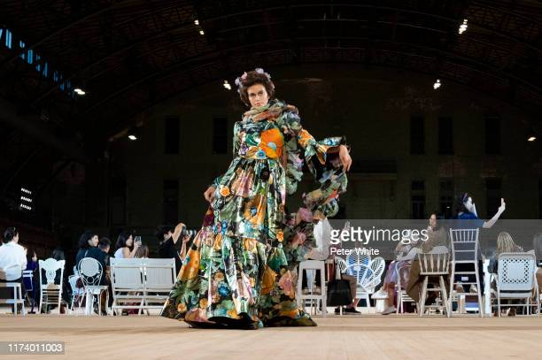 Model Kaia Gerber walks the runway during the Marc Jacobs Spring 2020 Runway Show at Park Avenue Armory on September 11 2019 in New York City