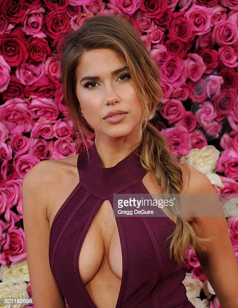 Model Kara Del Toro arrives at the Open Roads World Premiere Of Mother's Day at TCL Chinese Theatre IMAX on April 13 2016 in Hollywood California