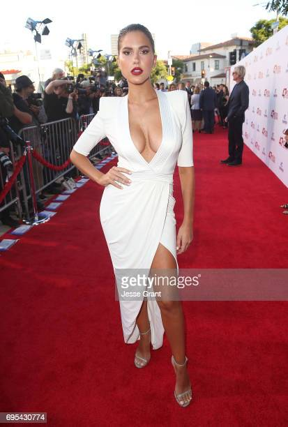 Model Kara Del Toro attends the Premiere of Dimension Films' '47 Meters Down' at the Regency Village Theatre on June 12 2017 in Westwood California