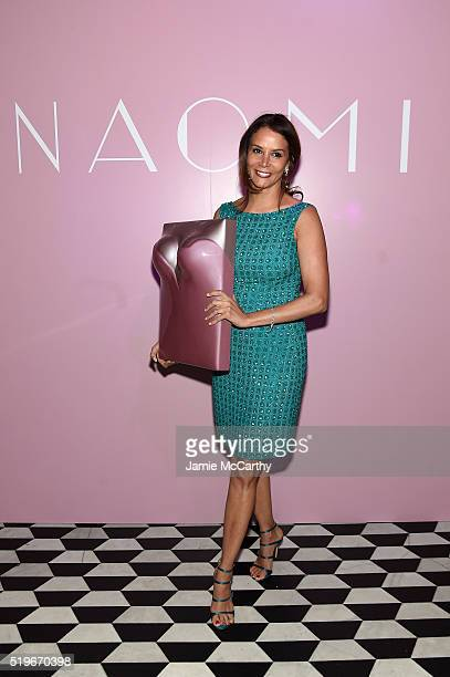 Model Kara Young attends as Marc Jacobs Benedikt Taschen celebrate NAOMI at The Diamond Horseshoe on April 7 2016 in New York City
