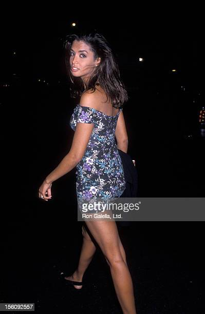 Model Kara Young attends Fashion Show Cocktail Party on September 5 1990 at the Plaza Hotel in New York City