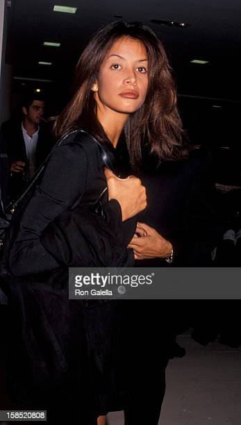 Model Kara Young attends L'Uomo Vogue Celebrates September Issue on September 7 1994 at Barney's in New York City