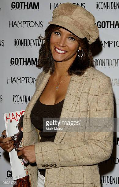 Model Kara Young attends the Gotham Magazine Premiere of Comedy Centrals Kid Notorious at Loews Ciniplex Theatre Kips Bay on October 14 2003 in New...