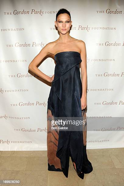 Model Karlie Kloss attends 2013 Gordon Parks Foundation Awards at The Plaza Hotel on June 4 2013 in New York City