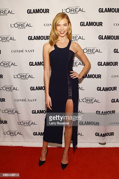 Model Karlie Kloss attends 2015 Glamour Women Of The Year Awards at Carnegie Hall on November 9 2015 in New York City