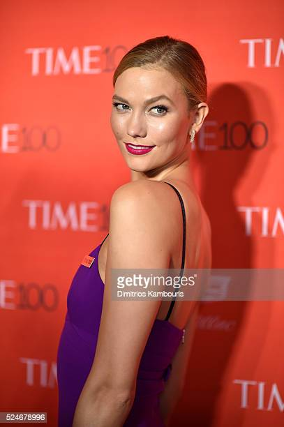 Model Karlie Kloss attends 2016 Time 100 Gala Time's Most Influential People In The World red carpet at Jazz At Lincoln Center at the Times Warner...