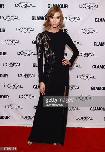 Model Karlie Kloss attends Glamour's 23rd annual Women of the Year awards on November 11 2013 in New York City