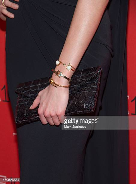 Model Karlie Kloss attends the 2015 Time 100 Gala at Frederick P. Rose Jazz Hall at Lincoln Center on April 21, 2015 in New York City.
