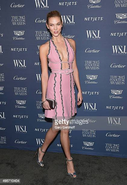 Model Karlie Kloss attends the 2015 WSJ Magazine Innovator Awards at the Museum of Modern Art on November 4 2015 in New York City