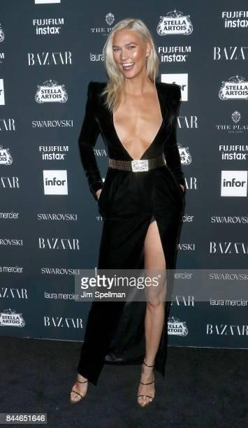 Model Karlie Kloss attends the 2017 Harper's Bazaar Icons at The Plaza Hotel on September 8 2017 in New York City