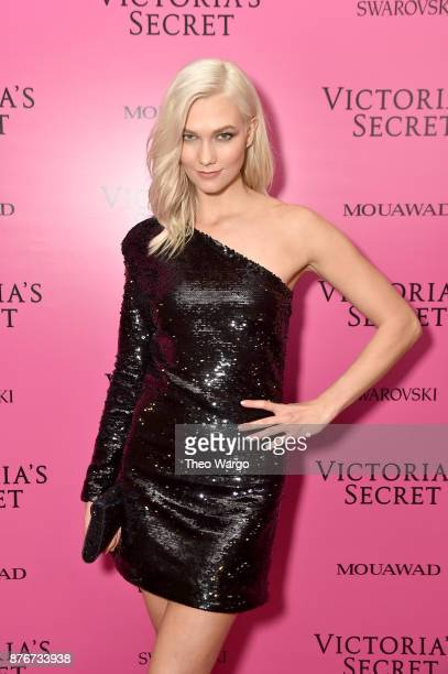 Model Karlie Kloss attends the 2017 Victoria's Secret Fashion Show In Shanghai After Party at MercedesBenz Arena on November 20 2017 in Shanghai China