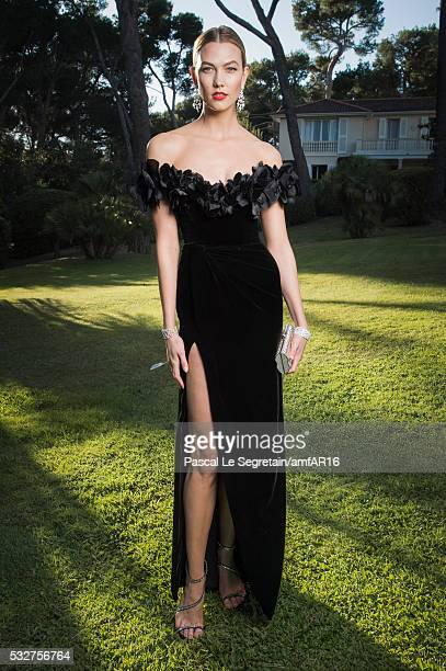 Model Karlie Kloss attends the amfAR's 23rd Cinema Against AIDS Gala at Hotel du CapEdenRoc on May 19 2016 in Cap d'Antibes France