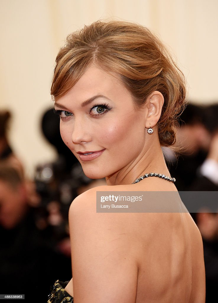 Model Karlie Kloss attends the 'Charles James: Beyond Fashion' Costume Institute Gala at the Metropolitan Museum of Art on May 5, 2014 in New York City.