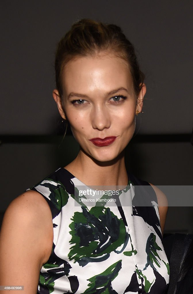Model Karlie Kloss attends the Guggenheim International Gala Pre-Party made possible by Dior on November 5, 2014 in New York City.
