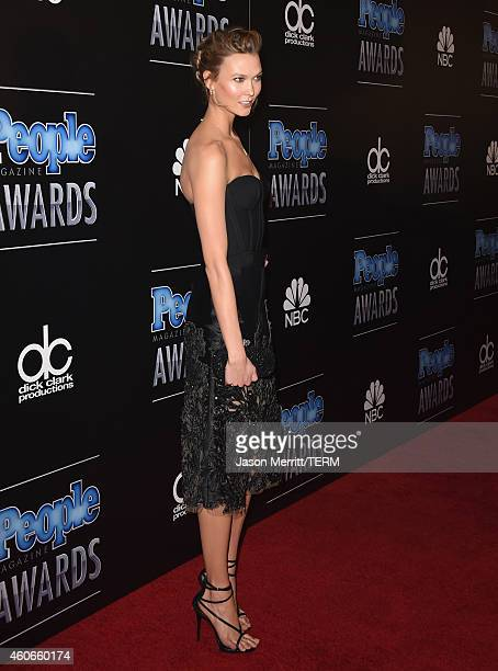 Model Karlie Kloss attends the PEOPLE Magazine Awards at The Beverly Hilton Hotel on December 18 2014 in Beverly Hills California