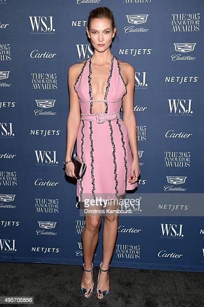 Model Karlie Kloss attends the WSJ Magazine 2015 Innovator Awards at the Museum of Modern Art on November 4 2015 in New York City