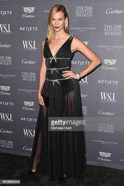 Model Karlie Kloss attends the WSJ Magazine 2016 Innovator Awards at Museum of Modern Art on November 2 2016 in New York City