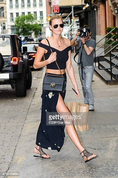 Model Karlie Kloss is seen on May 28 2015 in New York City