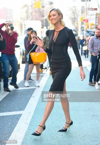 Model Karlie Kloss is seen walking in soho on March 11 2019 in New York City