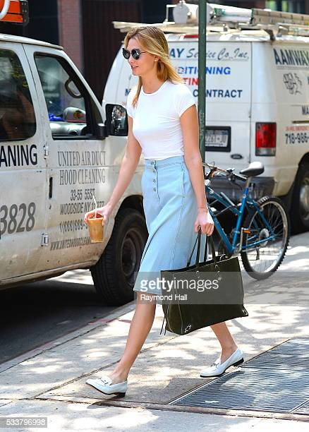 Model Karlie Kloss is seen walking in Soho on May 23 2016 in New York City
