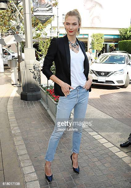 Model Karlie Kloss makes an instore appearance at Swarovski on October 25 2016 in Los Angeles California