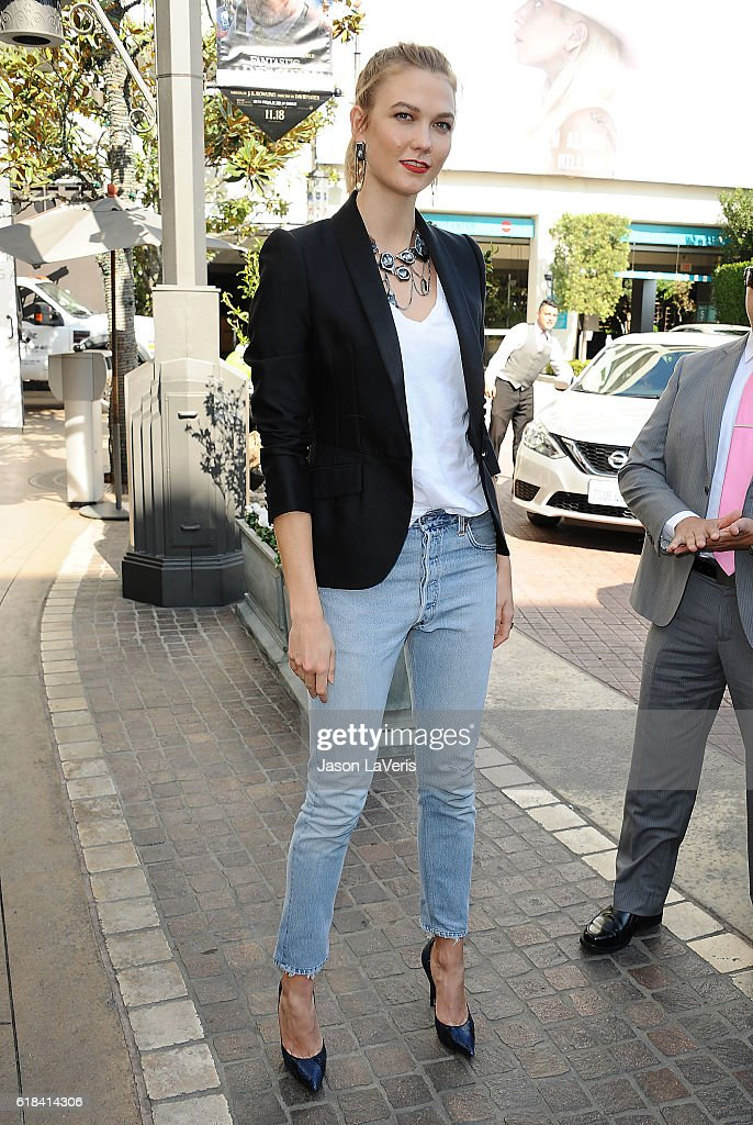 4b84824dc81c Model Karlie Kloss makes an in-store appearance at Swarovski on ...
