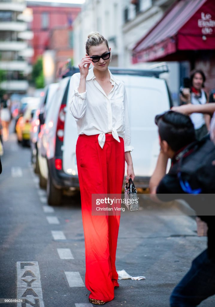 Street Style : Day Two - Haute Couture Fall Winter 2018/2019 : Photo d'actualité