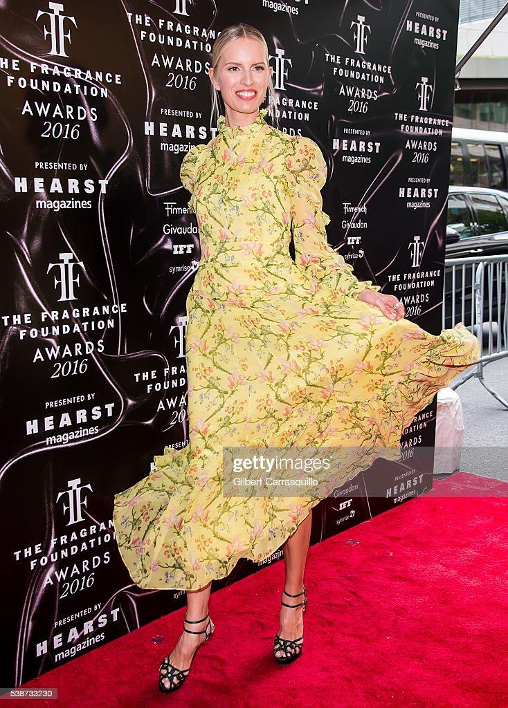 Model Karolina Kurkova attends 2016 Fragrance Foundation Awards at Alice Tully Hall at Lincoln Center on June 7, 2016 in New York City.