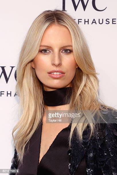 Model Karolina Kurkova attends the 4th Annual IWC Schaffhausen 'For The Love Of Cinema' Dinner at Spring Studios on April 14 2016 in New York City