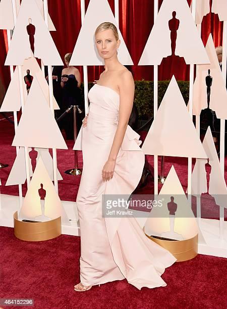 Model Karolina Kurkova attends the 87th Annual Academy Awards at Hollywood Highland Center on February 22 2015 in Hollywood California