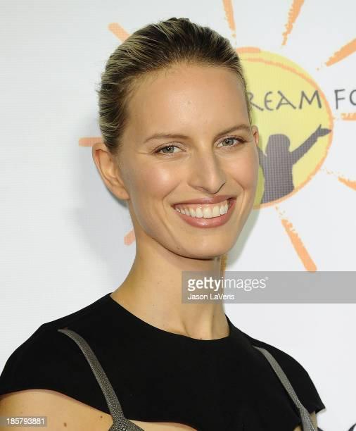 Model Karolina Kurkova attends the Dream For Future Africa Foundation gala at Spago on October 24, 2013 in Beverly Hills, California.