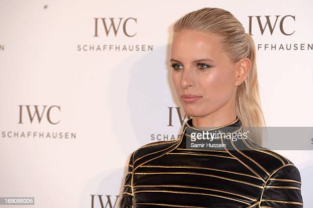 Model Karolina Kurkova attends the exclusive 'For The Love Of Cinema' event hosted by Swiss luxury watch manufacturer IWC Schaffhausen at the famous...