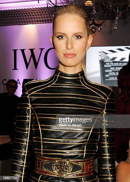 Model Karolina Kurkova attends the exclusive For The Love Of Cinema event hosted by Swiss luxury watch manufacturer IWC Schaffhausen at the famous...