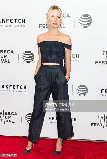Model Karolina Kurkova attends 'The First Monday In May' World Premiere during Opening Night of 2016 Tribeca Film Festival at John Zuccotti Theater...