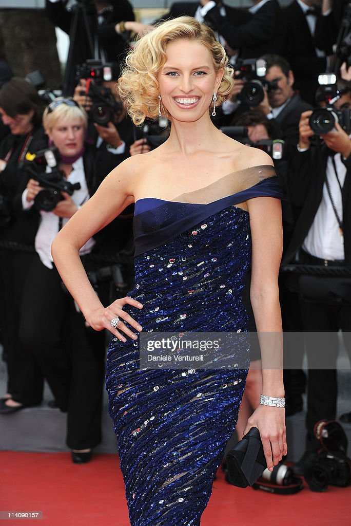 Model Karolina Kurkova attends the Opening Ceremony and 'Midnight In Paris' Premiere at the Palais des Festivals during the 64th Cannes Film Festival on May 11, 2011 in Cannes, France.