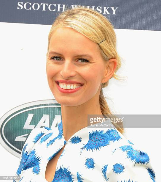 Model Karolina Kurkova attends the Sentebale Royal Salute Polo Cup during the sixth day of HRH Prince Harry's visit to the United States at Greenwich...