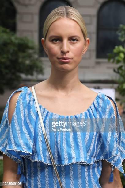 52b903b219aa Model Karolina Kurkova attends the Tory Burch Spring Summer 2019 Fashion  Show at Cooper Hewitt Smithsonian