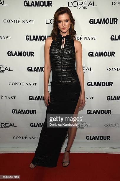 Model Kasia Struss attends 2015 Glamour Women Of The Year Awards at Carnegie Hall on November 9 2015 in New York City