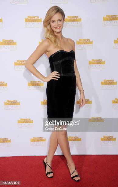 Model Kate Bock arrives at the 50th Anniversary Celebration Of Sports Illustrated Swimsuit Issue at Dolby Theatre on January 14 2014 in Hollywood...