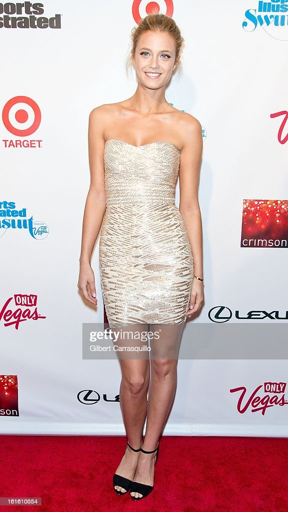 Model Kate Bock attends Sports Illustrated Swimsuit Launch Party at Crimson on February 12, 2013 in New York City.
