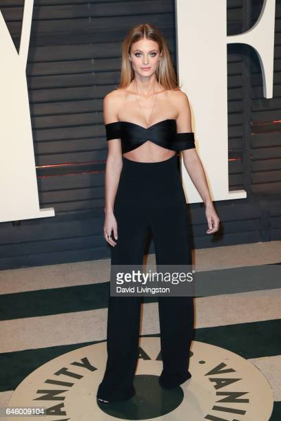 Model Kate Bock attends the 2017 Vanity Fair Oscar Party hosted by Graydon Carter at the Wallis Annenberg Center for the Performing Arts on February...