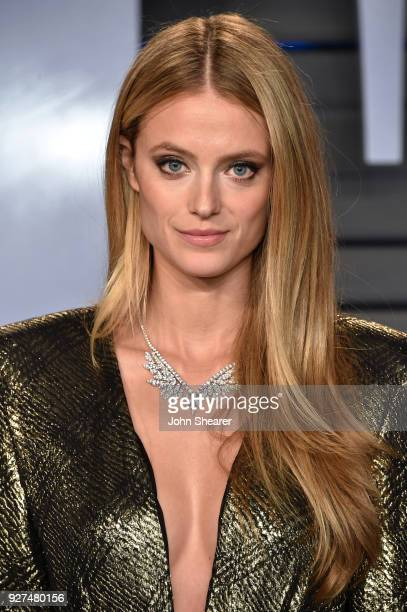 Model Kate Bock attends the 2018 Vanity Fair Oscar Party hosted by Radhika Jones at Wallis Annenberg Center for the Performing Arts on March 4 2018...