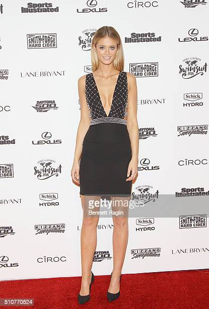 Model Kate Bock attends the Sports Illustrated Celebrates Swimsuit 2016 at Brookfield Place on February 16 2016 in New York City